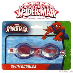 9f45bcb0a30 SPIDERMAN SWIM GOGGLES. Perfect for the pool or the beach Each blister  carded. Perfect