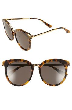 9cb4f94eef98 Gentle Monster 56mm Round Sunglasses available at  Nordstrom Round Metal  Sunglasses