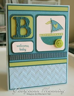 I like this baby card.