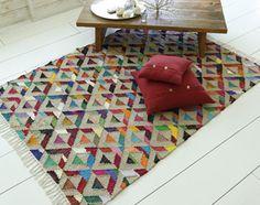 tapis style tribal - Becquet