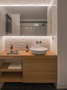 Decorando com a Si : BBB: banheiros bonitos e baratos Tropical Bathroom Decor, Zen Bathroom, Modern Bathroom, Master Bathroom, Bathroom Beadboard, Bathroom Signs, Bathroom Shelves, Bathroom Cabinets, White Bathroom