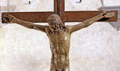 Desiderio da Settignano. Crocifisso. Mostra Uffizi: 21 Marzo-28 Agosto. Scultura dipinta nella Firenze del XV secolo