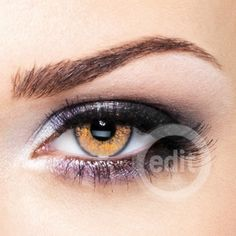 Glimmer Contacts Gold (Contact Lenses) - brilliantcontacts.com For Halloween maybe?