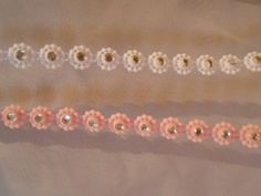 bling center flower trim choose color
