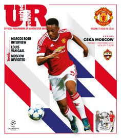 The official @Manchester United matchday programme, United Review, is available at every home game.