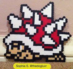 Perler Beads - Spiny by Sophia S.