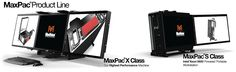 Whoa! Need this in Mac :b - 3 screen portable workstation by MaxVision...