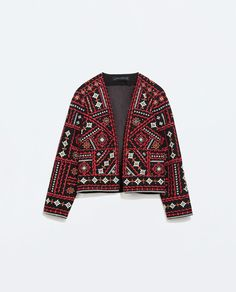 ZARA - COLLECTION SS15 - ETHNIC EMBROIDERED JACKET