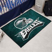 For our local Philadelphia Eagles fans, great rugs for cold dorm room floors!