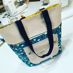 Caravan Tote bag, a #Noodlehead pattern
