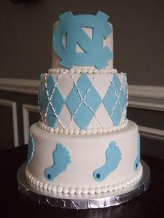 Tar Heels Grooms Cake