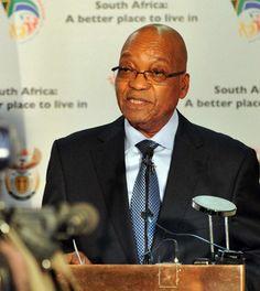 Presidente de Sudáfrica pide el retorno de Jesús para limpiar los pecados del mundo.