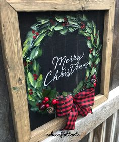 Indoor and Outdoor Christmas Decorations Merry Christmas Writing, Christmas Booth, Christmas Canvas, Christmas Tree Farm, Christmas Paintings, Noel Christmas, Winter Christmas, Christmas Ornaments, Merry Christmas Signs