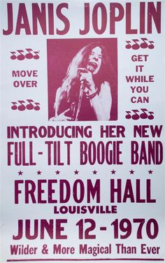 Pin By Theatre Royal Stratford East On Janis Joplin Full
