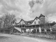 """Built in 1884 by Dr. Frank Caldwell of Pennsylvania, the hotel was finished but still lacking a name. Dr. Caldwell was living in the home of John Mason, whose daughter, Alice, had read accounts of Queen Victoria's visit to a place called Mentone in France. The news item had given the meaning of Mentone as """"a musical mountain spring."""" She suggested the same name be given to this spot where a rippling mountain spring flowed."""