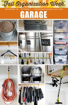 My tried-and-true GARAGE organizing practices...plus a few NEW ideas I'm trying that I think you're going to love!