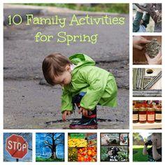 10 Springtime Family Activities
