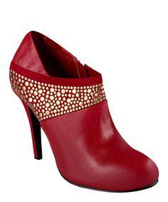 Loving this City Red Trickie Bootie on #zulily! #zulilyfinds