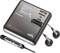 Sony MZ-RH10 Hi-MD Walkman Digital Music Player/Recorder | Best TV Brands: