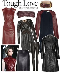 """""""Trend 2: Tough Love"""" by polyvore-editorial ❤ liked on Polyvore"""