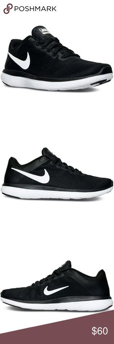 Nike Mens Flex Run 2016 Running Sneakers Nike Men's Flex Run 2016 Running Sneakers  Brand new in box!  Product Details Smooth and flexible, the Nike Men's Flex 2016 Running Sneakers is made to move with you. A co-molded midsole, molded outsole with tri-star pattern and engineered mesh upper work together to enhance your stride. Engineered mesh upper Co-molded midsole for smooth transitions Flywire cables for support Minimal heel design enhances the fit Rounded heel Tri-star outsole pattern…