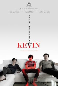 """We Need To Talk About Kevin,"" released 2011, dir. Lynne Ramsey. A movie that will make you think. A great character study on both the titular character and his mother, Eva. Ezra Miller and Tilda Swinton do phenomenal jobs. And for a movie that possesses the title ""we need to talk..."" there is very little talking, which leaves most of the discussion up to the viewer. My only problem rested with some of the ""experimental"" direction. 4/5"