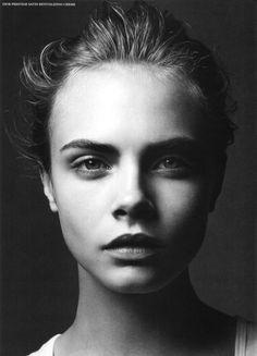 Cara Delevingne by Simon Emmet.