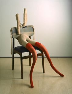 Bunny Gets Snookered by Sarah Lucas
