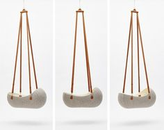 Wool Felt Cradle Makes Little Nest for Baby | Nest, Babies and Kids ...