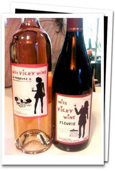 The First Vicky Wine Range