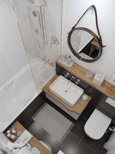 Beautiful bathroom decor tips. Modern Farmhouse, Rustic Modern, Classic, light and airy master bathroom design suggestions. Bathroom makeover some ideas and master bathroom remodel suggestions. Bathroom Design Layout, Bathroom Design Small, Bathroom Interior Design, Design Room, Small Toilet, Trendy Home, Bathroom Inspiration, Bathroom Ideas, Bathroom Organization