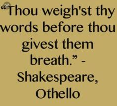 Othello Quotes Stunning Shakespeare Othello Quote  Quote Time  Pinterest  Shakespeare