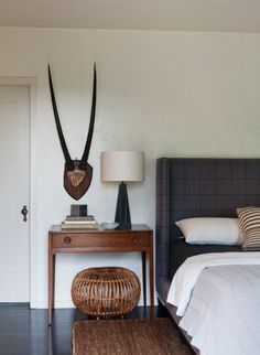 bedrooms | masculine accents | masculine bedroom |