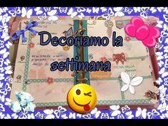 PLAN WITH ME | DECORIAMO L' AGENDA dal 2 al 8 maggio ft Anny Rossi