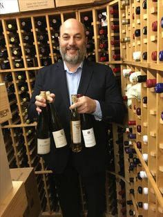 Steve Izzo our Sommelier and Beverage Director with the Riesling Wine selections for our Prix Fixe earlier in the month.