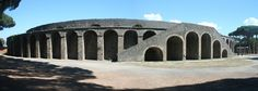 The Amphitheater of Pompeii. What would have happened here?