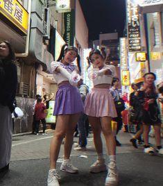 Shibuya Halloween w my kawaii imouto 💖💜 Bailey May, Bff Pictures, Friend Goals, Power Girl, My Princess, Cheer Skirts, Skater Skirt, Kids Fashion, Friendship