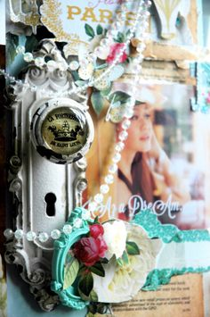 I am going to make this-it calms my spirit. Fun, Fussy and Fanciful with Postcards From Paris II!