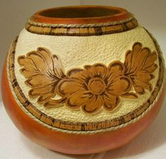 Gourd creations by Maggie Criss