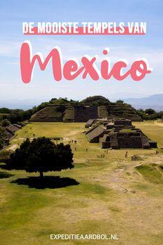 Mexico heeft een indrukwekkende geschiedenis en prachtige bezienswaardigheden. Ik deel de vier mooiste Maya tempels van Mexico. Countries To Visit, Mexico Travel, Central America, Travel Inspiration, Travel Tips, World, Maya, Holiday, Blog