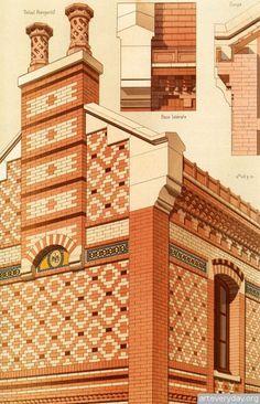 1   Victorian Brick and Terra-Cotta Architecture - Викторианская кирпичная и терракотовая архитектура   ARTeveryday.org