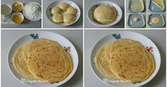 Roti maryam 3 ingredients