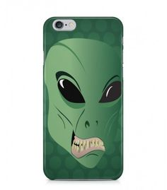 Wonderful Amazing Green Alien Theme 3D Iphone Case for Iphone 3G/4/4g/4s/5/5s/6/6s/6s Plus - ALN0097 - FavCases