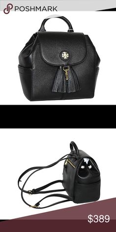46014a3c17ea 💥SALE Tory Burch Whipstitch mini Backpack NWT