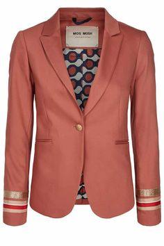 3ba6097de31 Mos Mosh Blake Grande Blazer | Blazer fra Mos Mosh | 127180 (345 Marsala)