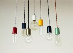 Single Pendant Light by onefortythree — ACCESSORIES -- Better Living Through Design