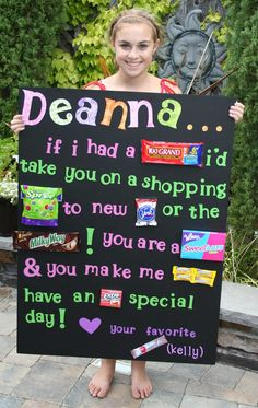 Birthday poster idea (diy birthday cake for boyfriend) Birthday Candy Grams, Birthday Candy Posters, Cl Birthday, Candy Birthday Cards, Candy Bar Posters, Cute Birthday Gift, Birthday Crafts, Funny Birthday, Candy Poster Board