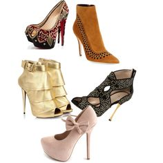"""""""It's a shoe fantasy"""" by bsimon623 on Polyvore"""