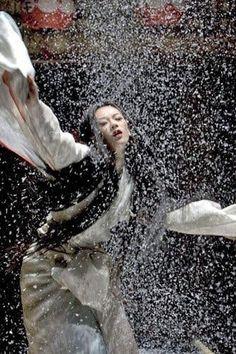 Rob Marshall , Memoirs of a Geisha - Ziyi Zhang, Ken Watanabe, Michelle Yeoh , Li Gong Gong Li, Michelle Yeoh, Zhang Ziyi, Snow Movie, I Movie, Japanese Theme, Die Geisha, Geisha Book, Geisha Art