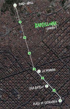 Itinerario 3 giorni BARCELLONA: Giorno 1